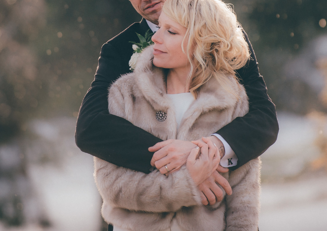 Journalistic Millcroft Inn Winter Wedding