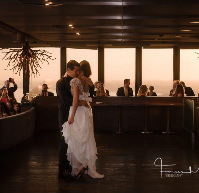 Canoe Restaurant Wedding Photographer