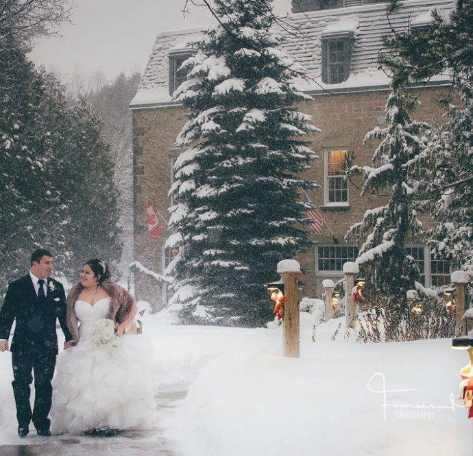 Millcroft Inn & Spa Winter Wedding Slideshow
