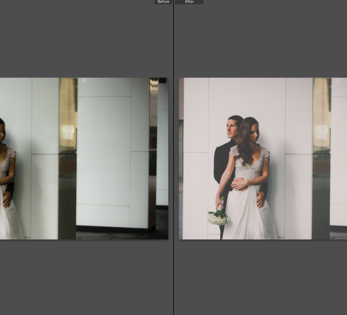 Four Season Wedding : Before and After Edit