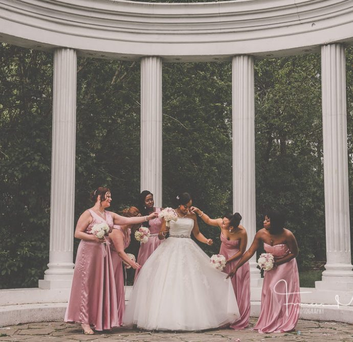 Church Ceremony and Paradise Banquet Wedding