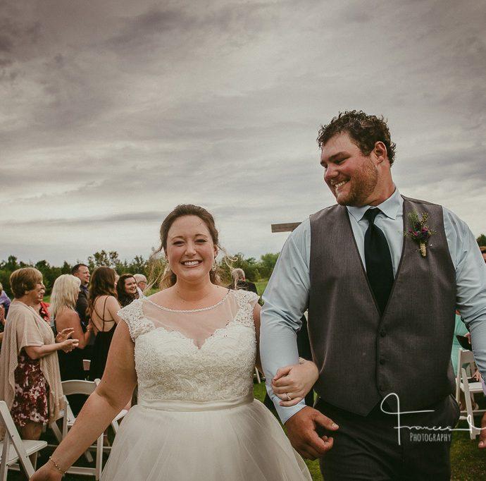 Collingwood Backyard Tented Journalistic Wedding