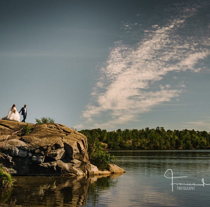 Golf Course Journalistic Wedding Photography