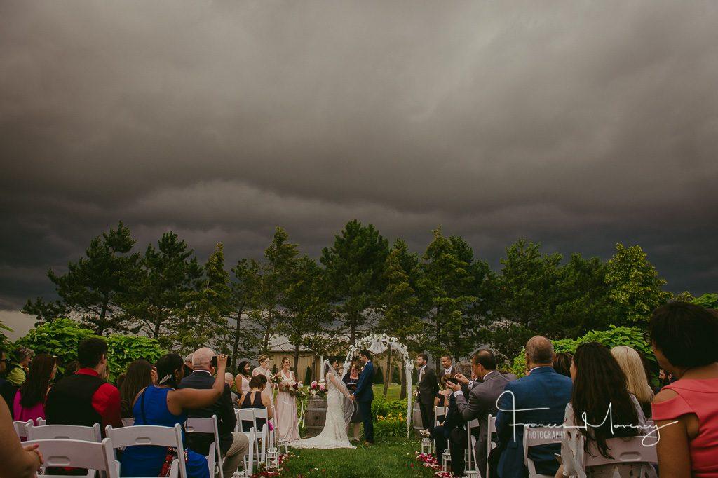 Rockway Vineyard Journalistic Wedding Photography