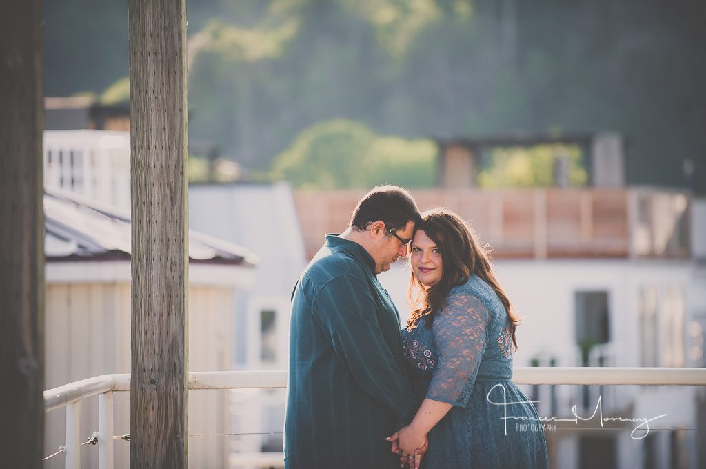 Scarborough Restaurant Engagement Photography