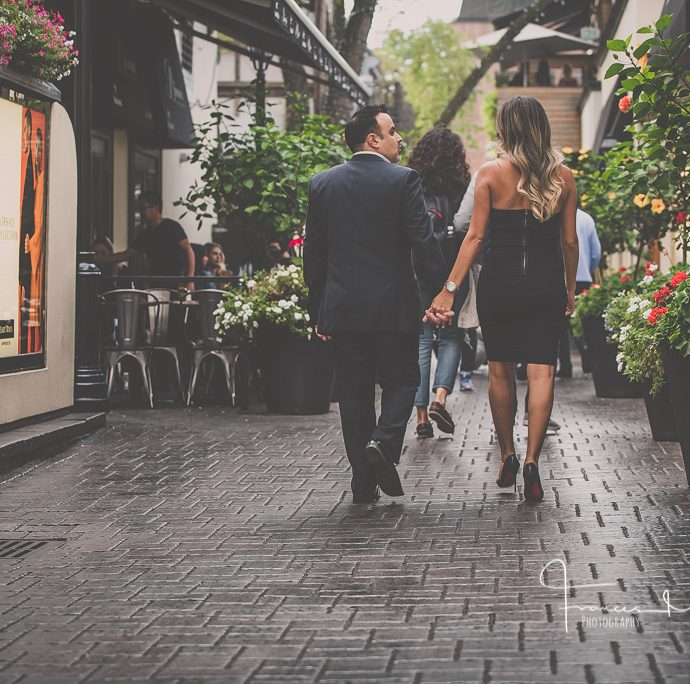 Toronto Yorkville Engagement Photography