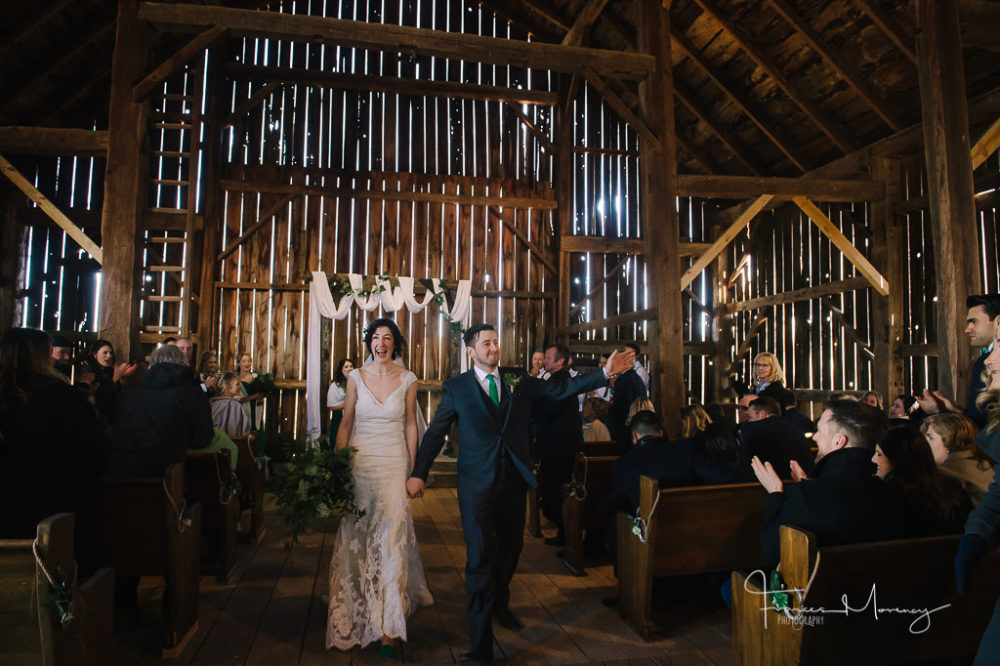 Waterstone Estates Journalistic Barn Wedding