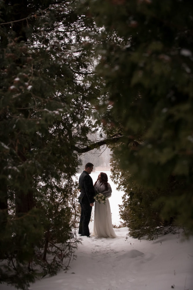 Millcroft Inn & Spa Winter Wedding