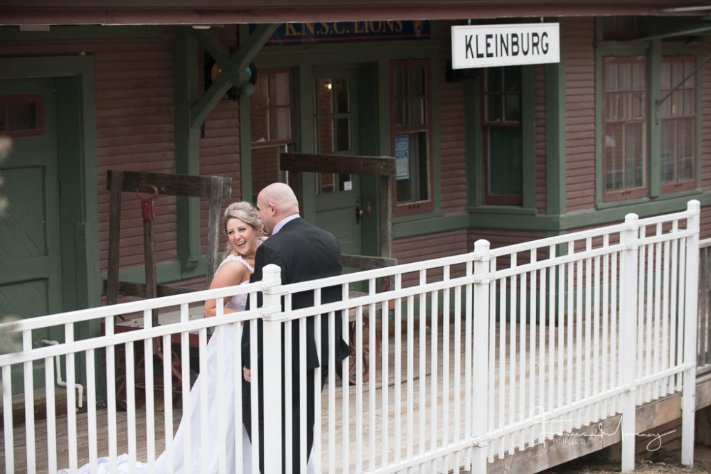 Kleinburg Unposed Wedding Photography