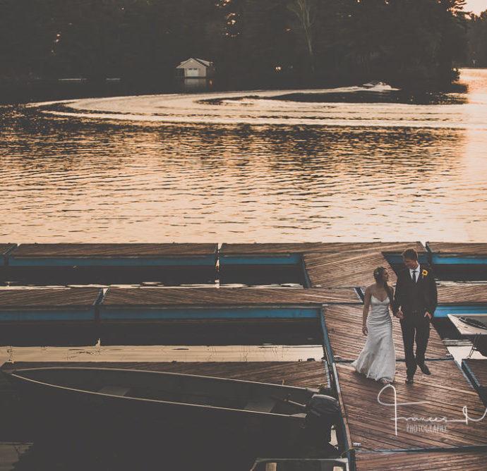 Tappattoo Resort Waterfront Wedding