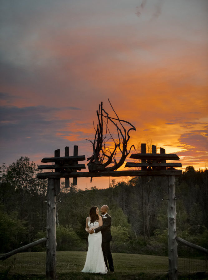 Epic Sunset Wedding at Special Event Centre