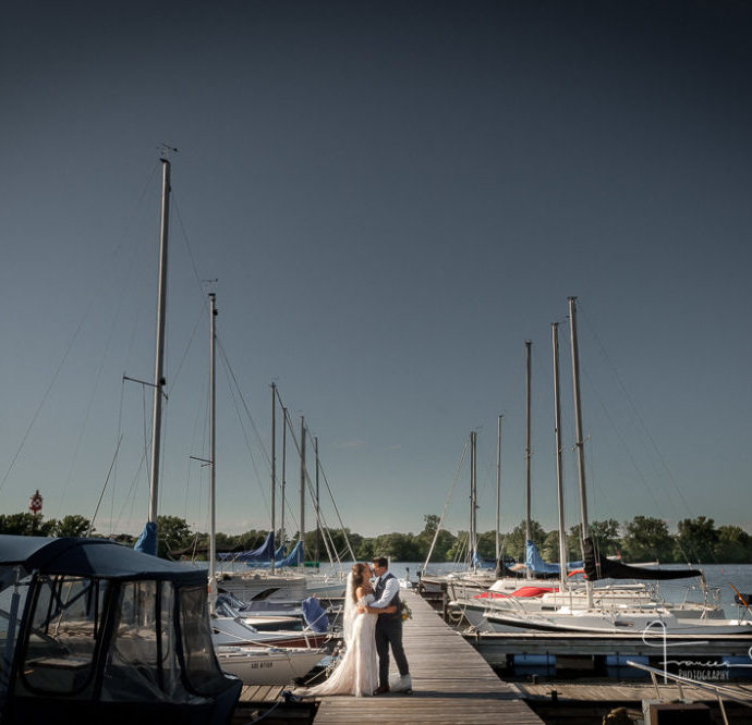 Collingwood Waterfront Wedding Photographer