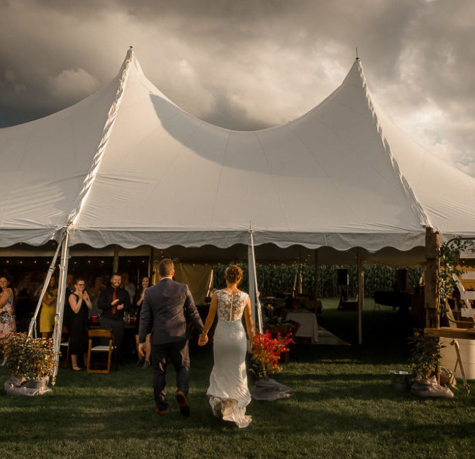 Tottenham Farm Outdoor Journalistic Wedding
