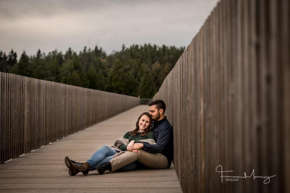 Island Lake Engagement Photographer