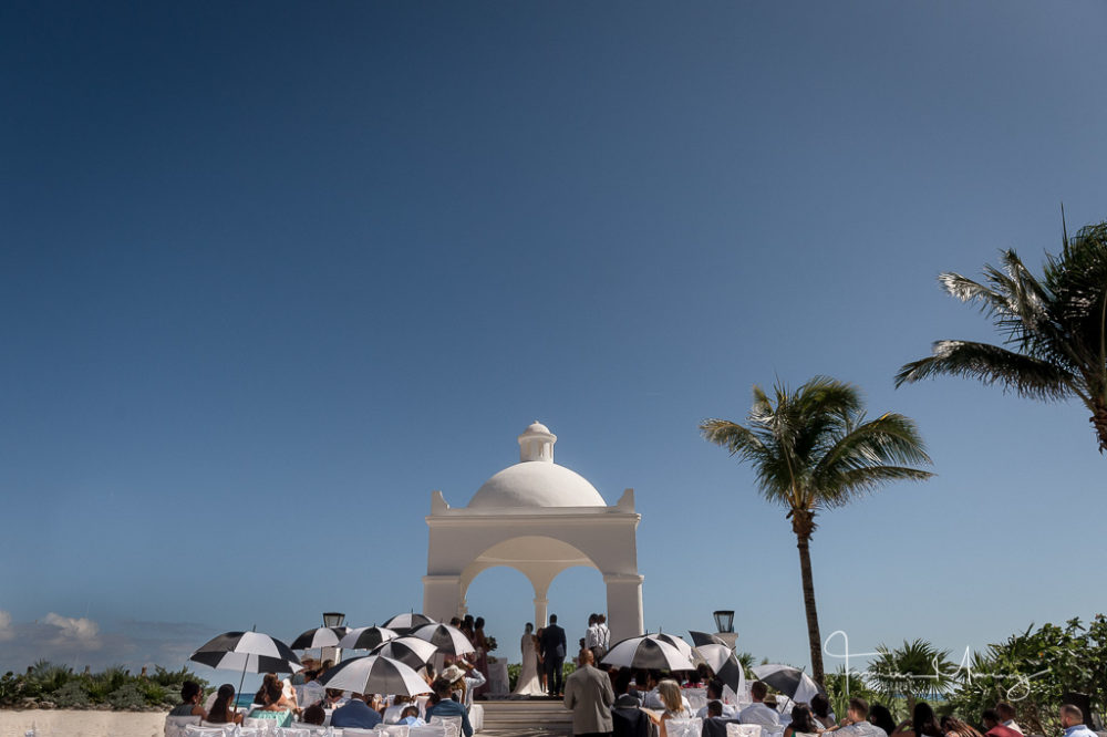Luxury Bahia Akumal Resort Destination Wedding