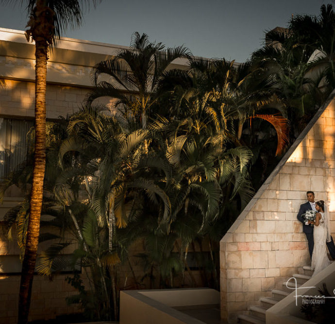 Luxury Bahia Mexico Destination Wedding