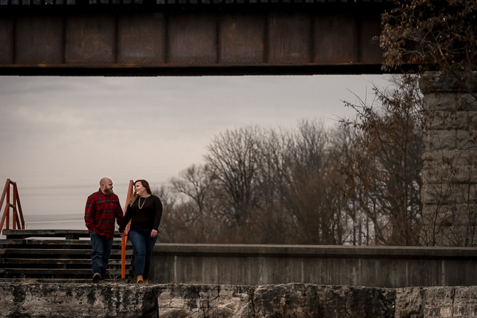 Caledonia Engagement Session at Grand River