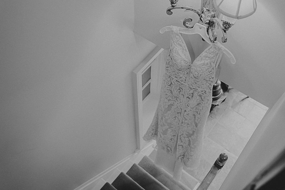 Wedding Gown Photo at Ancaster Mill