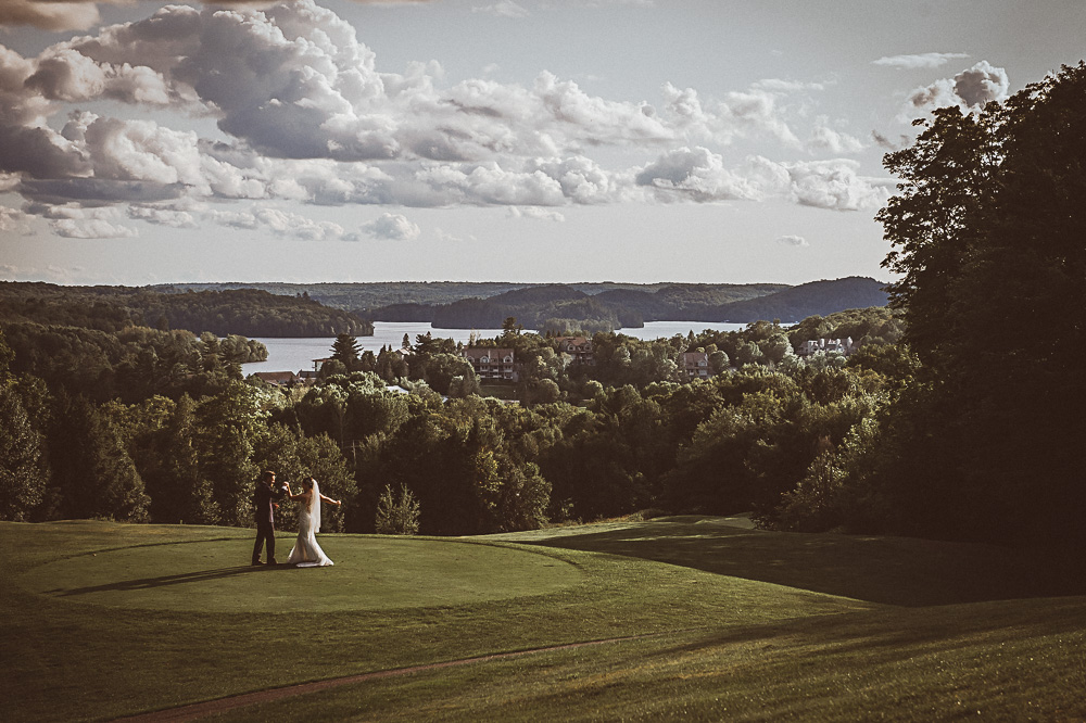 Deerhurst Resort wedding portrait